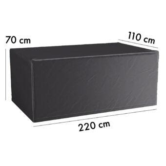 Aerocover möbelskydd till bord, 220x110 cm höjd 70 cm