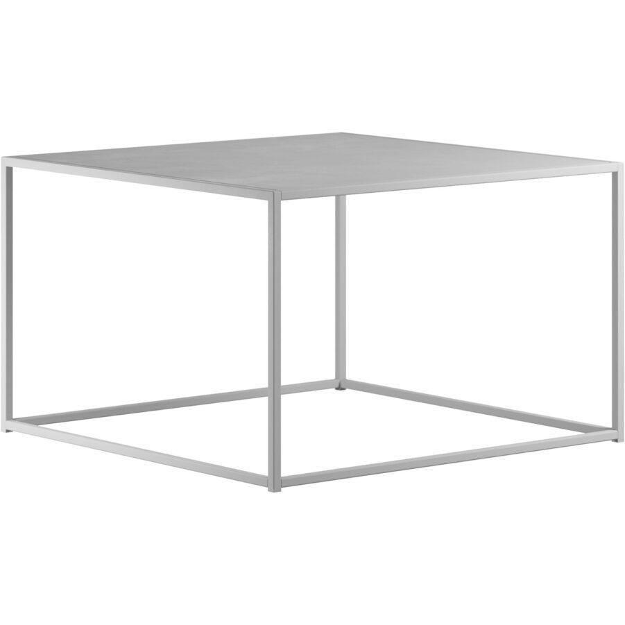 Square soffbord från Design Of i vitt.