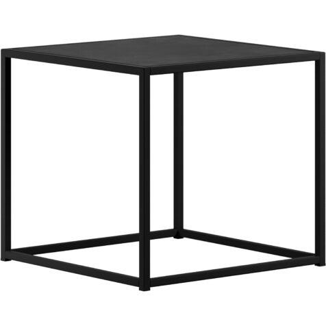 Design of sidobord i svart i storleken 43x43 cm.