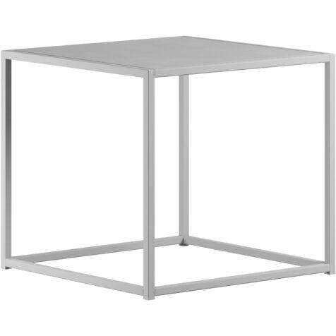 Sidobord i vitt i storleken 43x43 cm från Design Of.