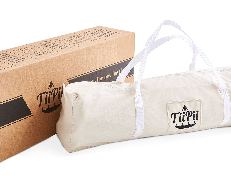 Väska och kartong till TiiPii hänggunga.