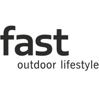 Logotyp för varumärket Fast.