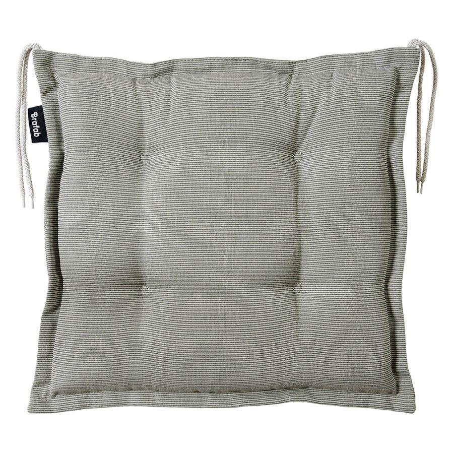 Brafab Florina sittdyna 41x41 cm grå dralon