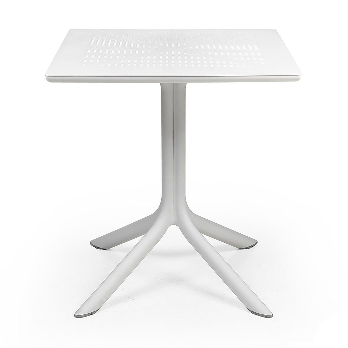 Clip cafébord i vitt 70x70 cm från Brafab.