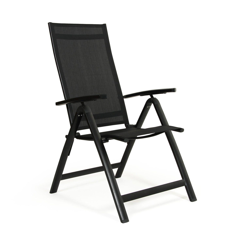 Creston positionsstol i svart från Brafab.