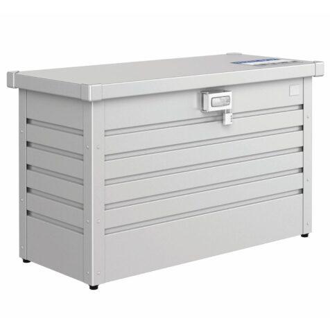 Paketbox från Biohort i silver.