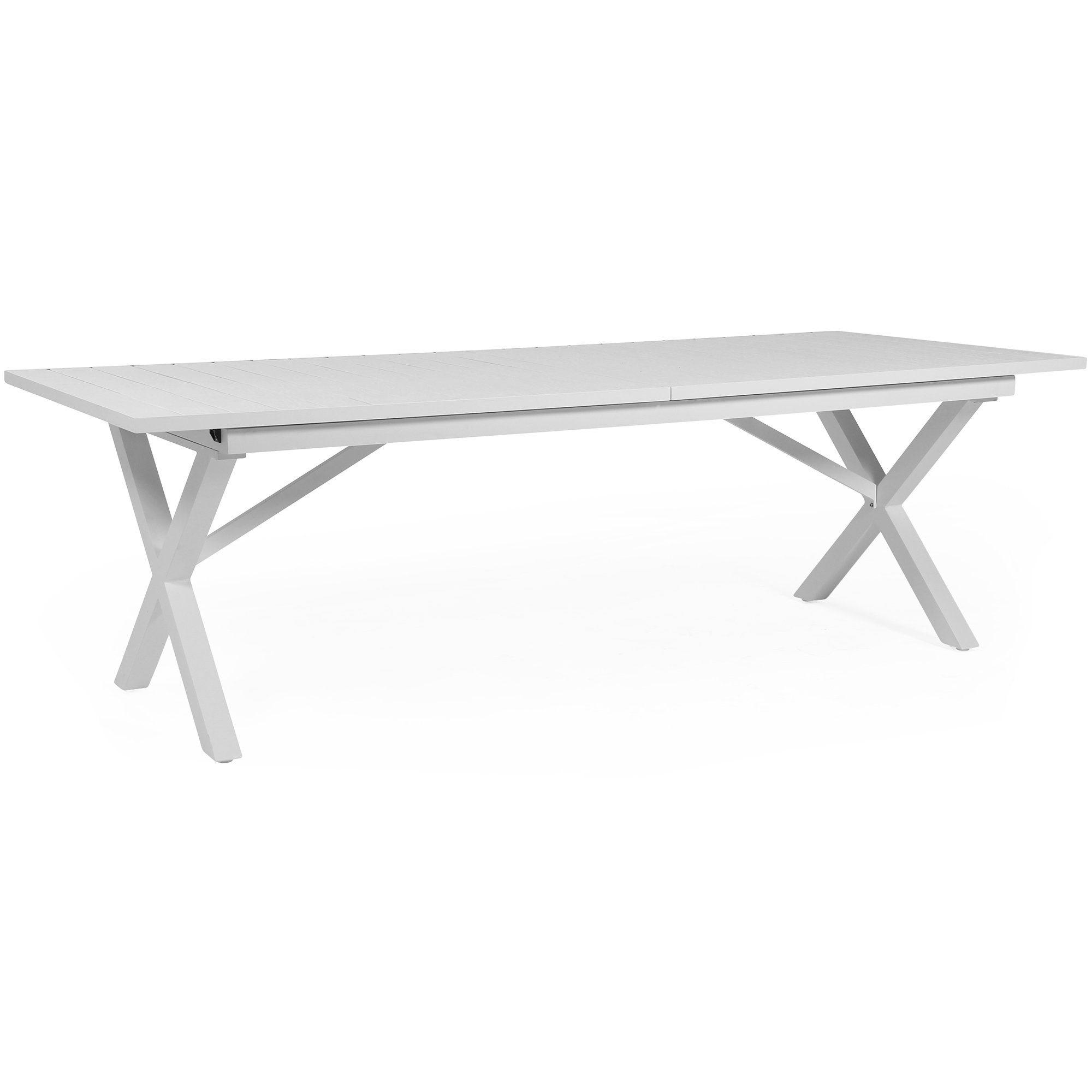Hillmond förlängningsbord från Brafab i vitt.