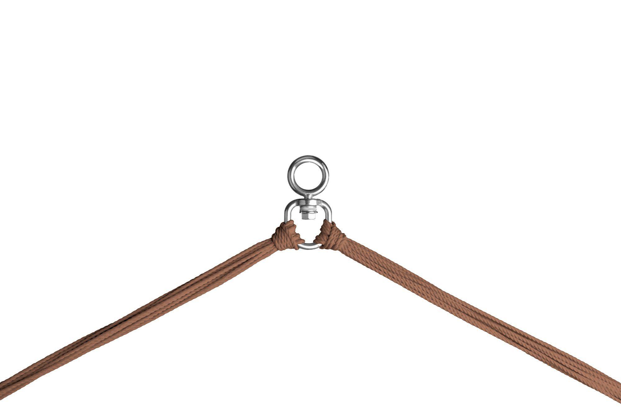 Detaljbild på upphängningsanordningern till hänggungan Modesta.