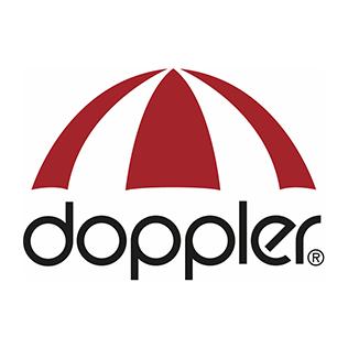 Logga för varumärket Doppler.