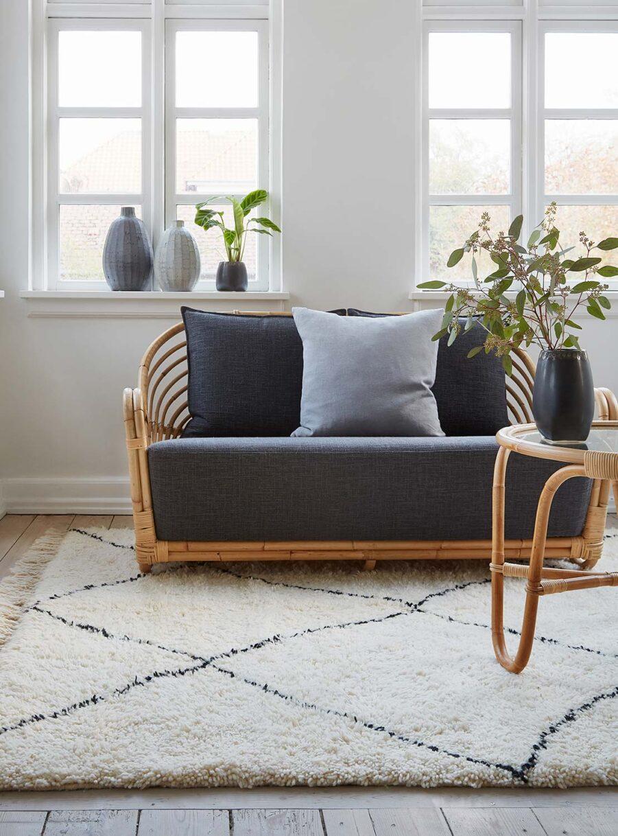 Charlottenborg soffa i rotting från Sika Design.