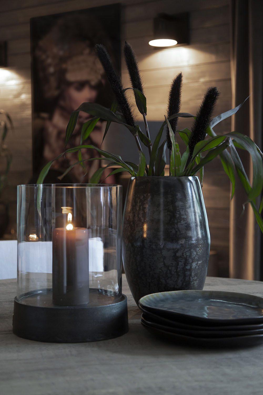 Inspirationsbild på ljuslyktan Celano i glas av varumärket Artwood.