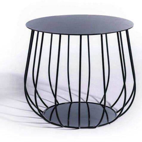 Resö loungebord i svart från Skargaarden.
