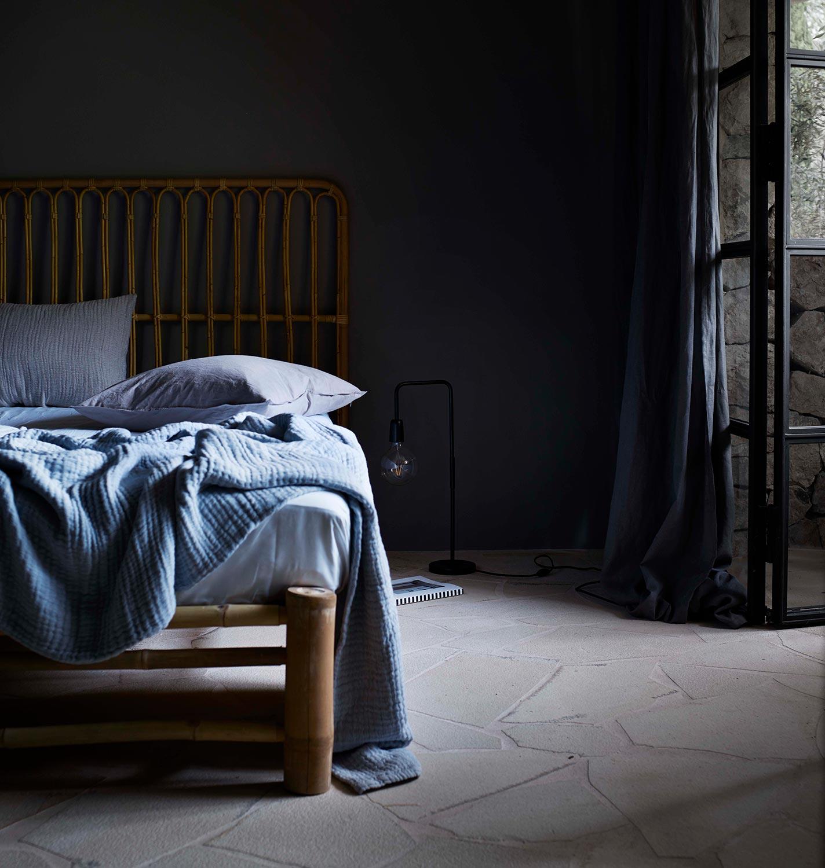 Sänggavel i bambu från Tine K.