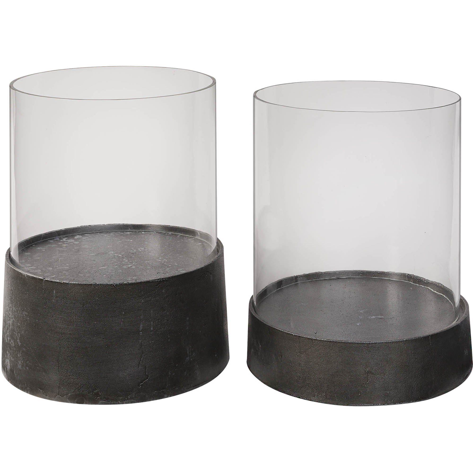 Celano ljuslyktor från Artwood i järn och glas.