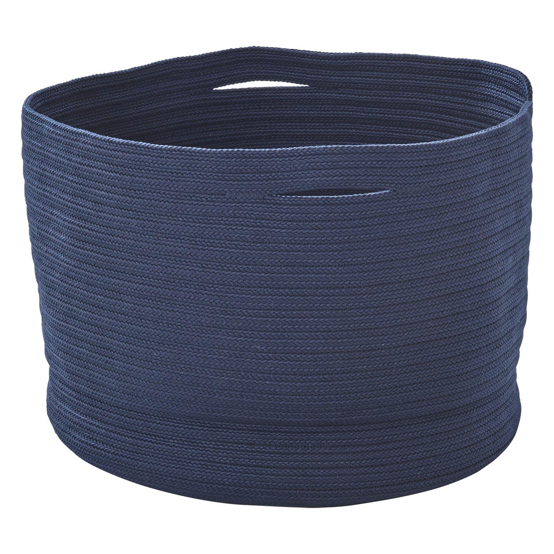 Soft stor korg från Cane-Line i blå polypropylen.