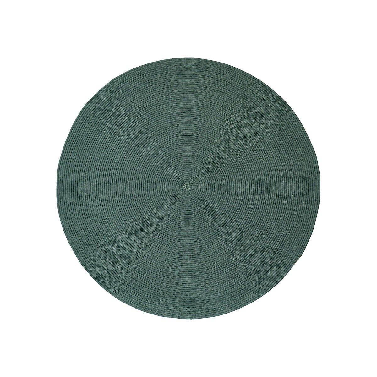 Mattan Infinity i grön polypropylen i färgen grön.