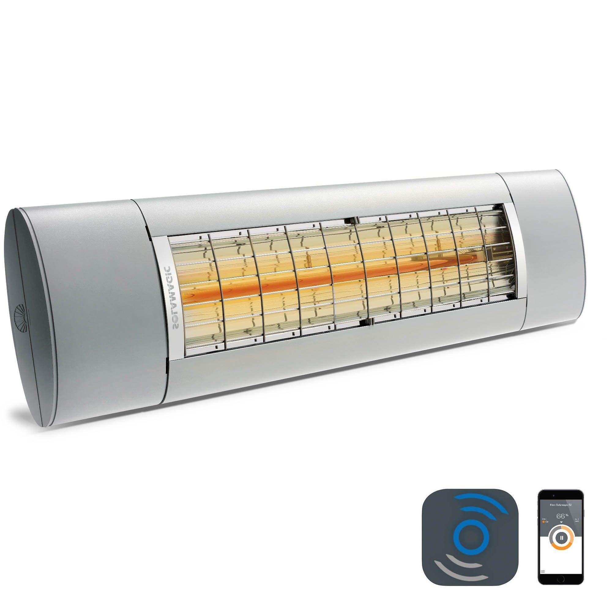 Solamagic Air+ med bluetooth modul för appstyrning.