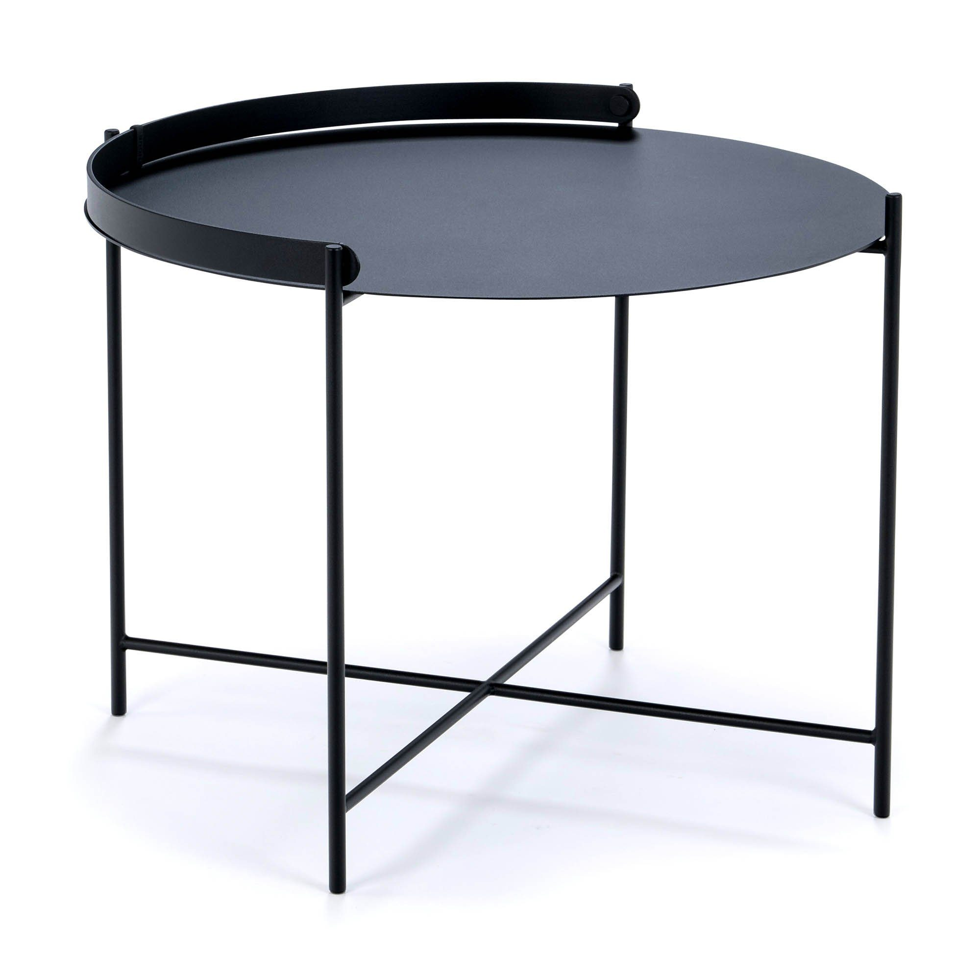 Edge bord i svart från Houe.