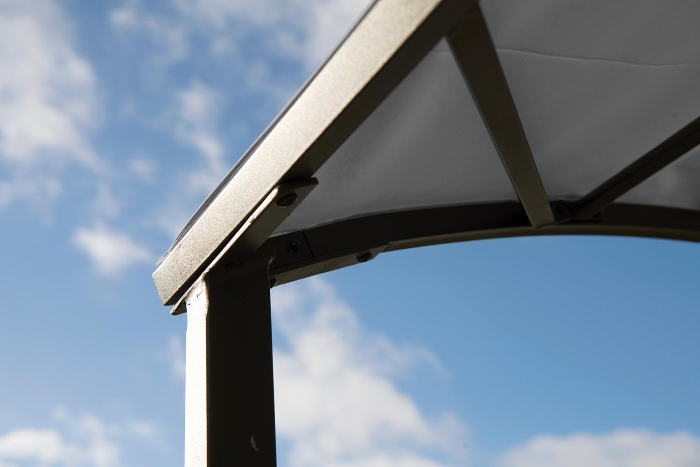 Barbeque tält från Hillerstorp i grått.