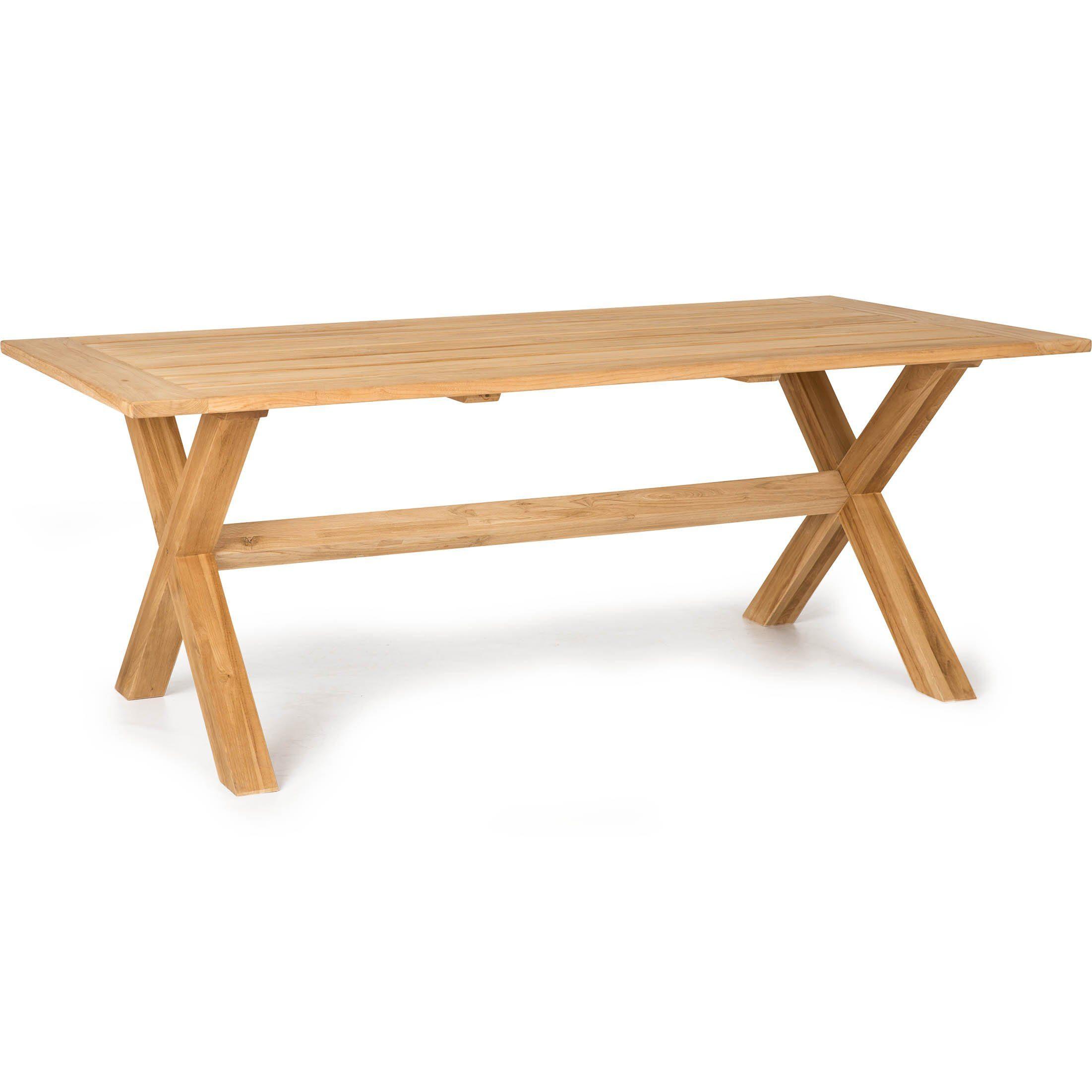 X-teak matbord 200x100 cm i teak från Atleve.