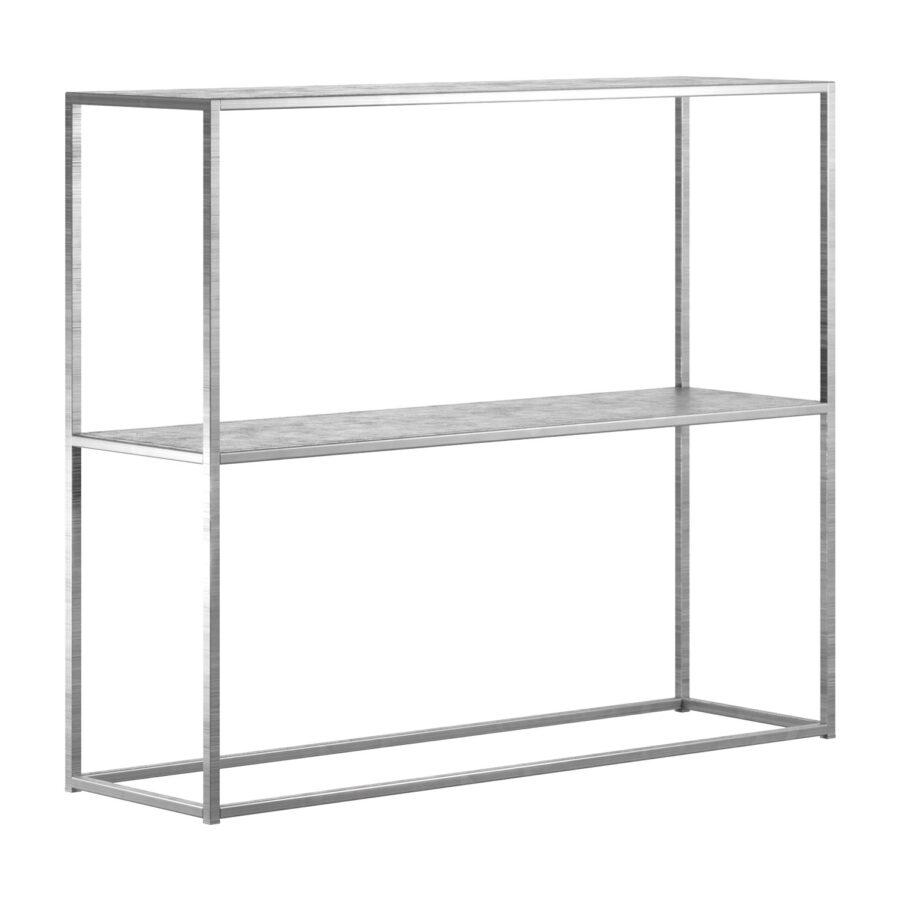 DesignOf sideboard/hylla i galvaniserad stål.