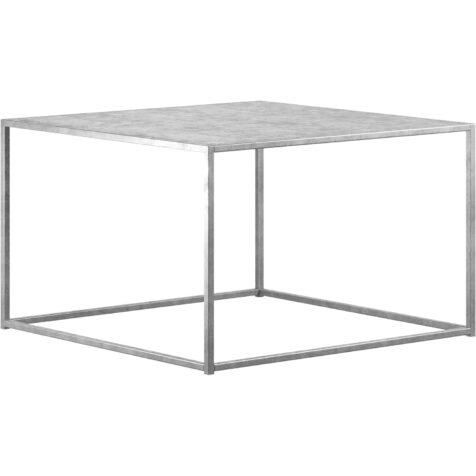 Square M soffbord från Design Of i galvaniserad stål.