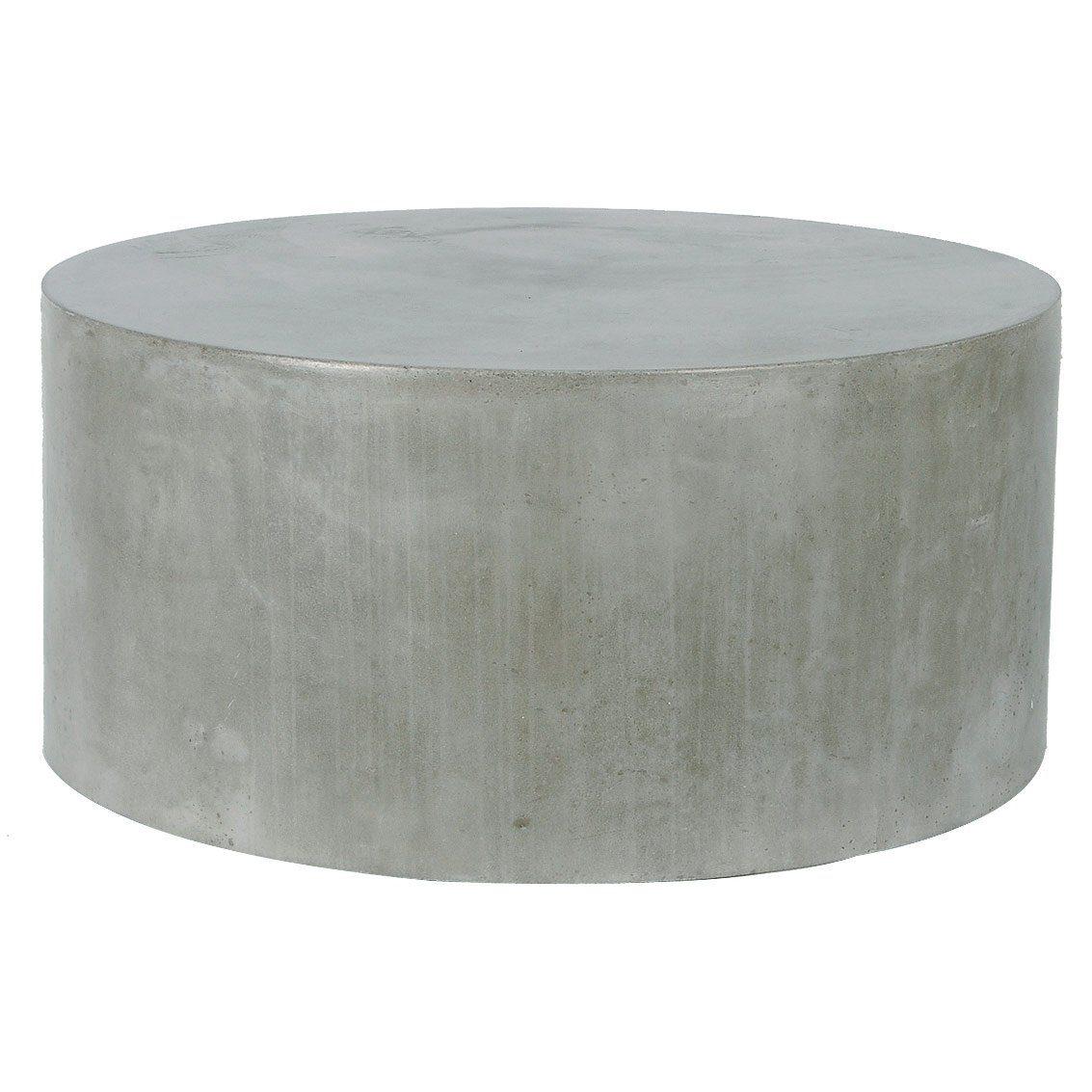 Delano soffbord Ø 58 cm i betong från Indoor Outdoor.