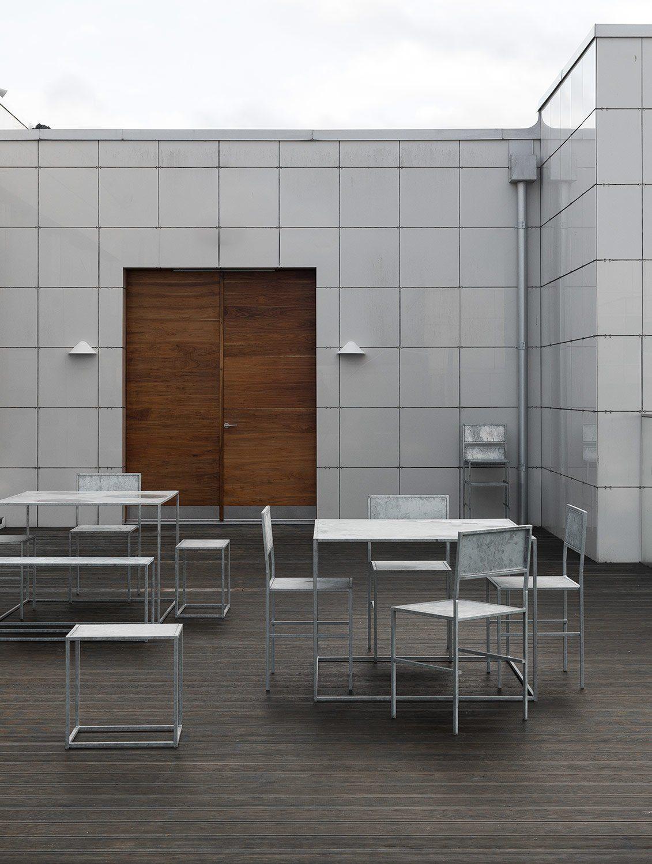 Domo Design i galvaniserat stål.