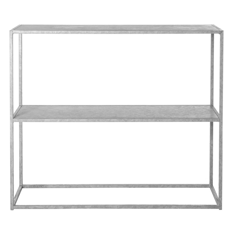 Sideboard i galvaniserat stål från Domo Design.