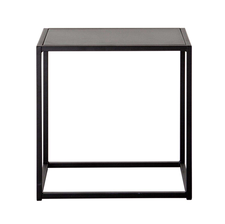 Domo pall i svartlackat stål från Domo Design.