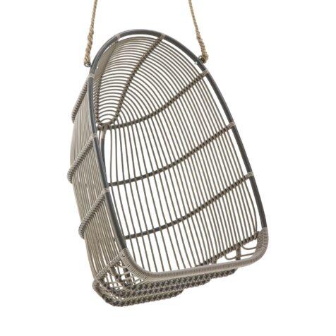 Renoir hänggunga i aluminium från Sika-Design i färgen moccachino.