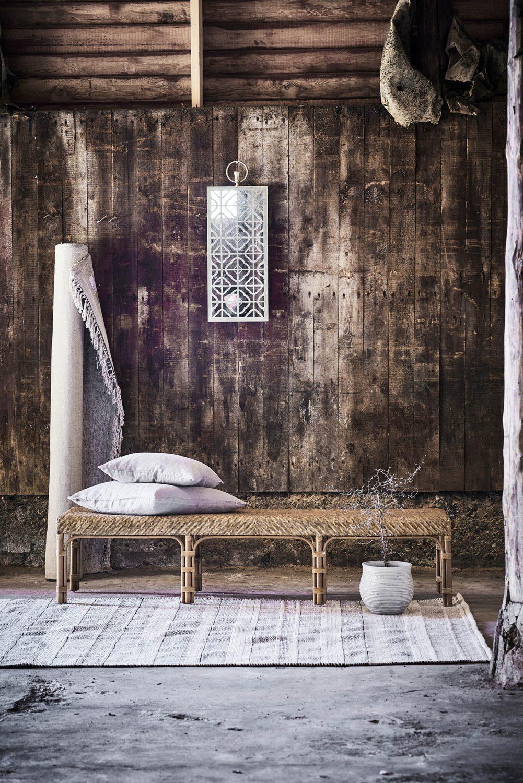 Miljöbild av Luis bänk från Sika-Design.