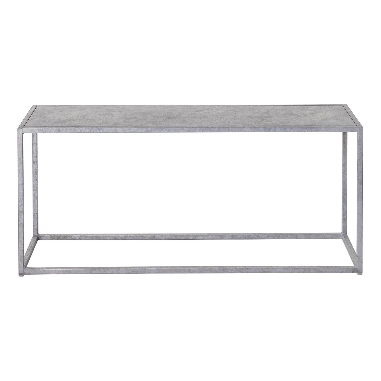 Domo outdoor bench i galvaniserat stål från Domo Design.