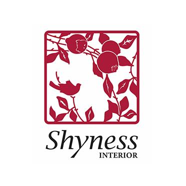 Logotyp för varumärket Shyness.