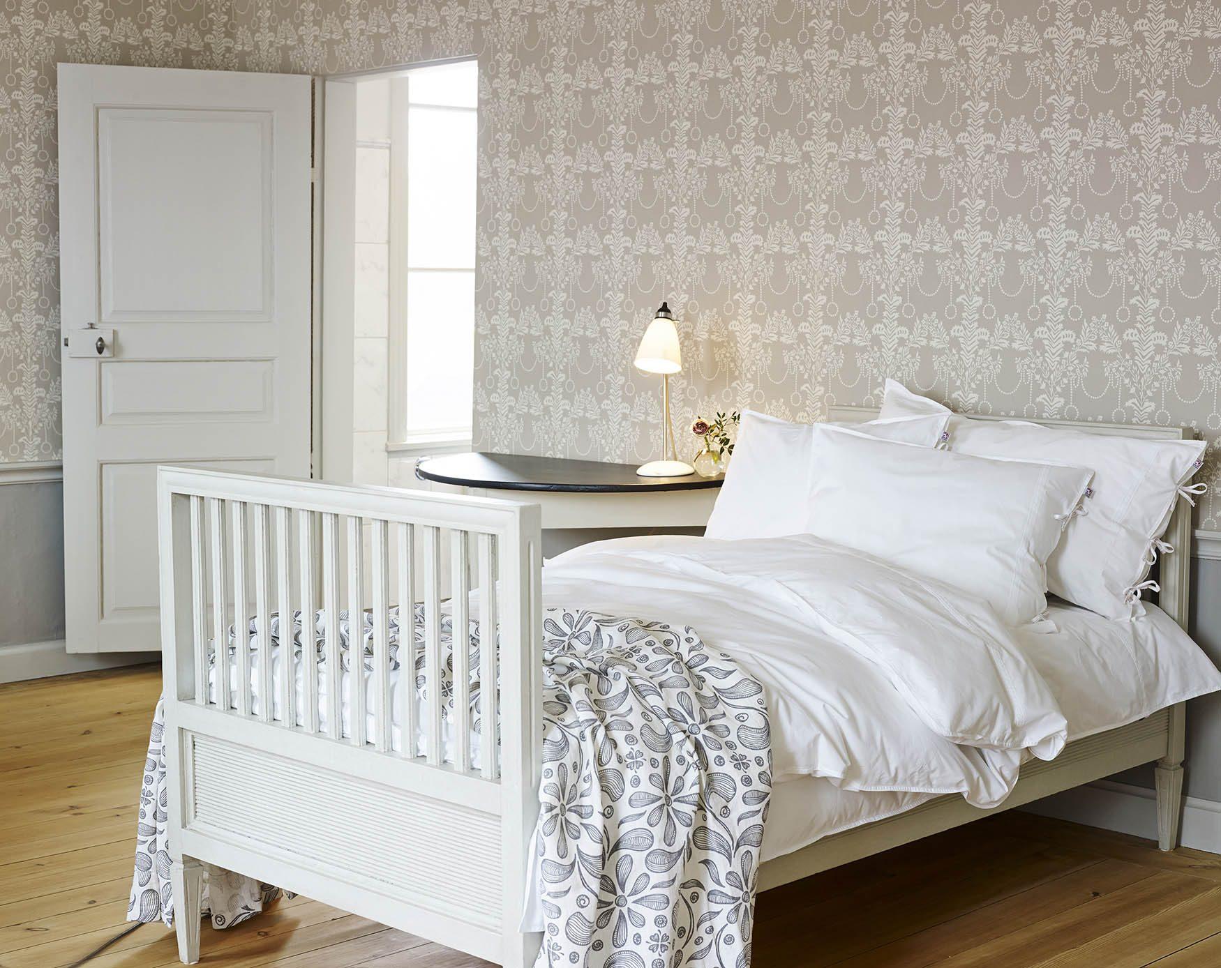 Miljöbild på sängkläder från Shyness.
