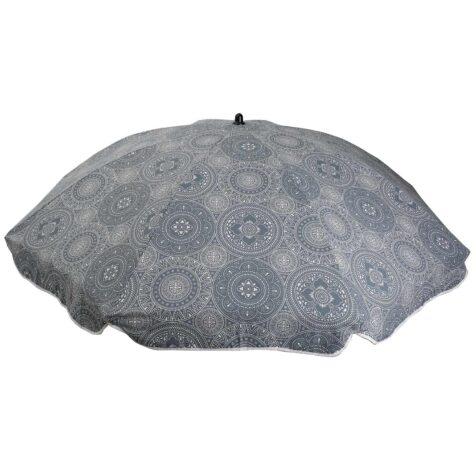 Parasoll från Fritab i Mandala grey bomull.