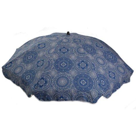 Parasoll från Fritab i Mandala blue bomull.