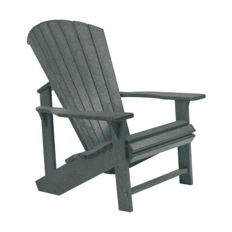 Eco adirondackstol i färgen slate grey.