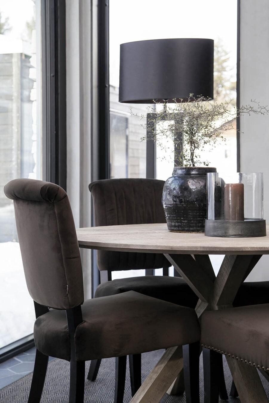 Miljöbild Carollina/ Carera matstol, Tree matbord från artwood
