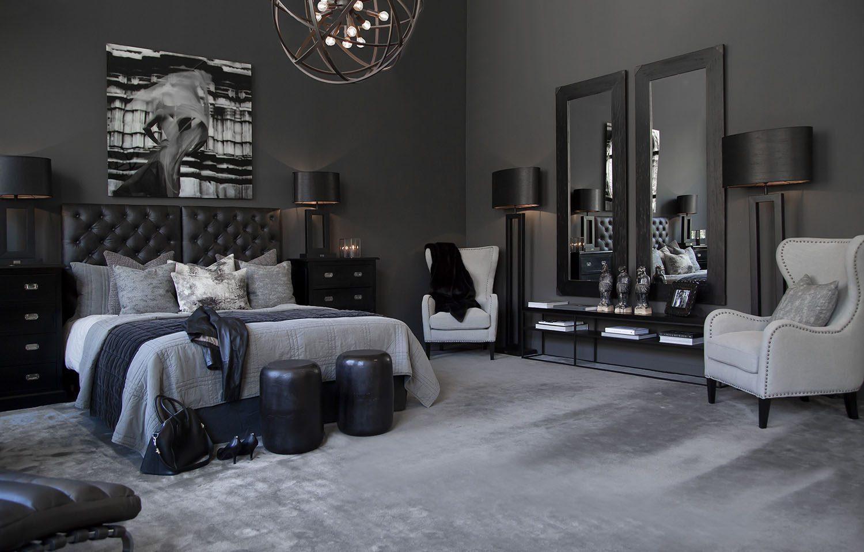 Miljöbild på ett sovrum med Artwood-möbler.