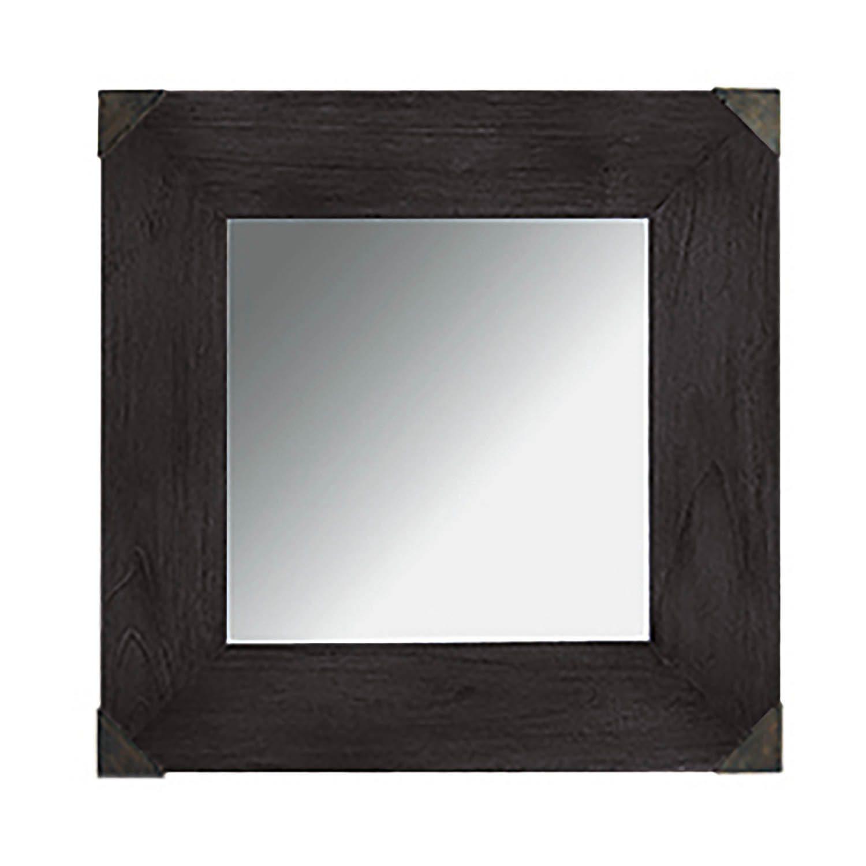Vintage spegel från Artwood i svart java ek.