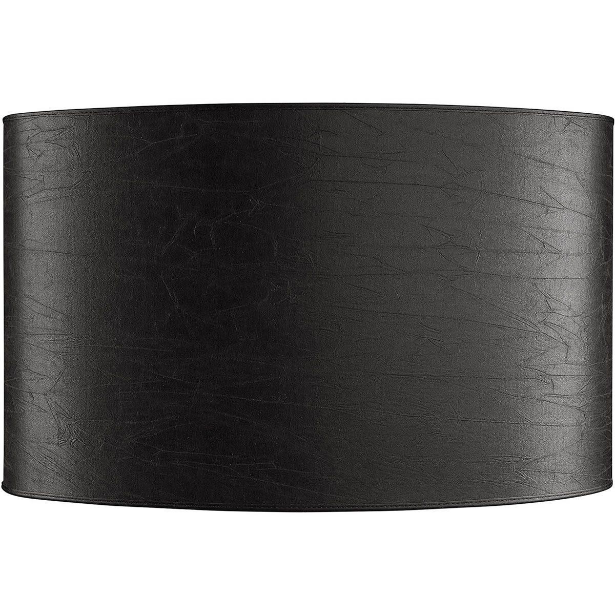 Oval lampskärm i svart från Artwood.