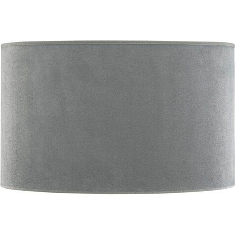 Oval lampskärm med bredden 60 cm och djupet 28 cm.