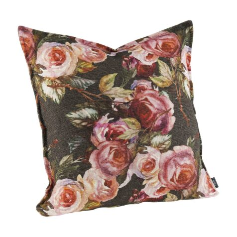 Rosita flower print kuddfodral med tryck med rosor från Artwood .