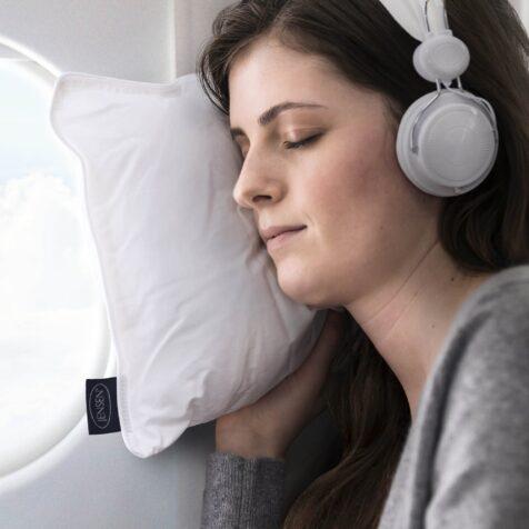 Jensen Travel Pillow resekudde i formatet 30x50 cm.