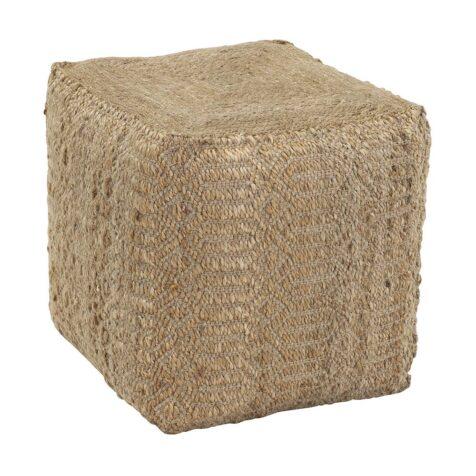 Diamond sittpuff från Dixie tillverkad i naturmaterial.