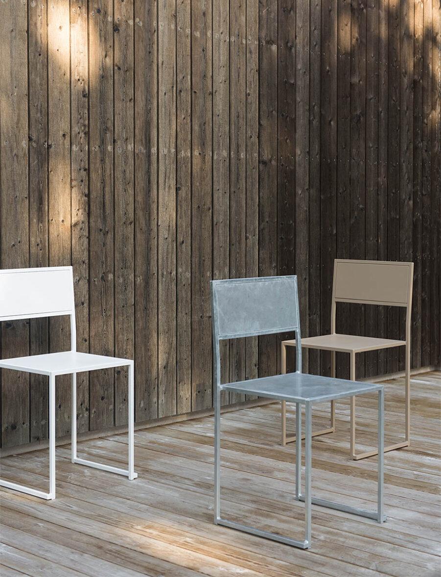 Design of Chair 2 i olika färger.
