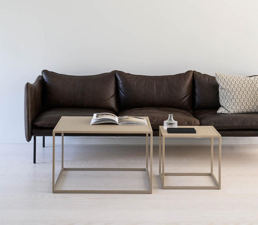 Design of Square soffbord i två storlekar.