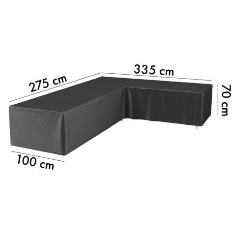 7948 Aerocover hörnsoffskydd, 275H/355V höjd 70 cm