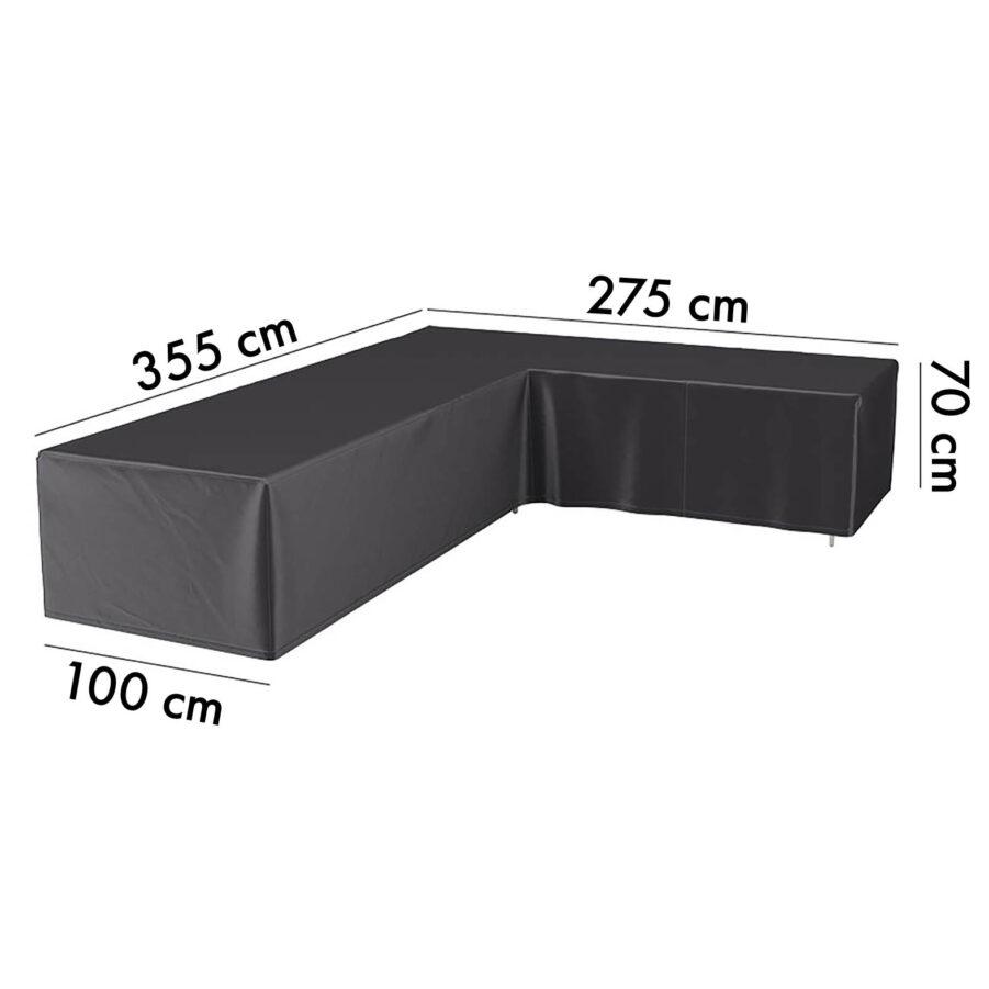 7949 Aerocover hörnsoffskydd, 355H/275V höjd 70 cm